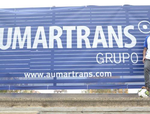 El grup Aumartrans patrocinador principal del primer equip