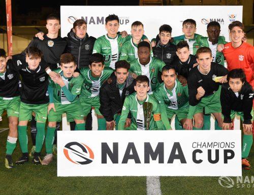 L'UE Cornellà es proclama campió de la primera edició de la Nama Champions Cup