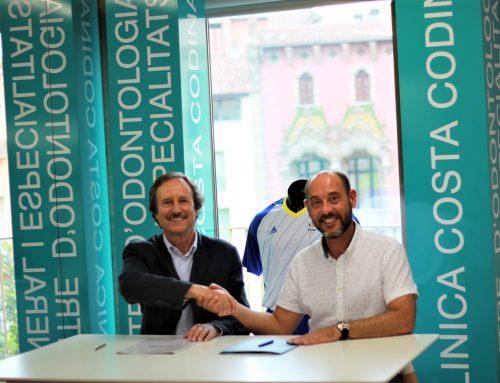 L'Esport Club Granollers i la Clínica Costa Codina firmen un conveni de col·laboració